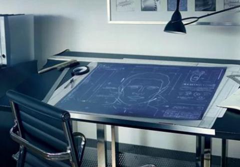 blue print desk